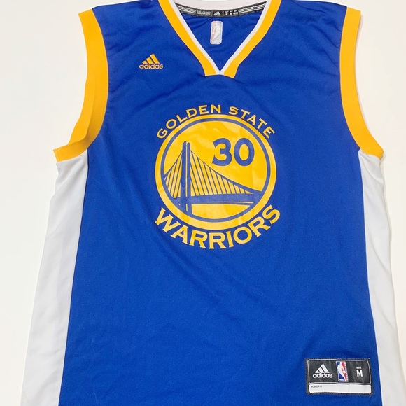 new product 7898f 46c51 Steph Curry Warriors 30 jersey sz medium